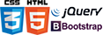 HTML5 + CSS3 + jQuery + Bootstrap
